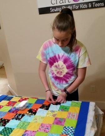 Beginning Quilt Classes for Teens, Celia's Craft Room
