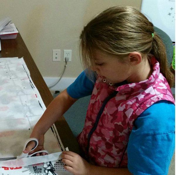 after school sewing clubs, pj pants class for kids, celias craft room, celias sewing studio