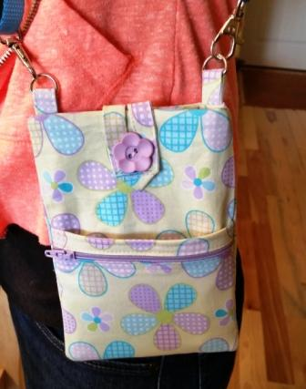 sewing classes, teen sewing class, cell phone purse class