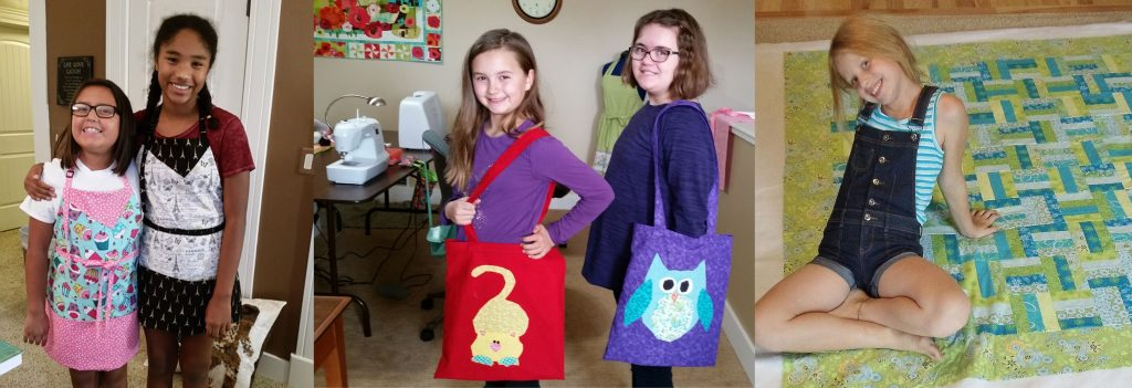 summer sewing camps, kid sewing classes, kids can sew, celias craft room, sewing teens and kids