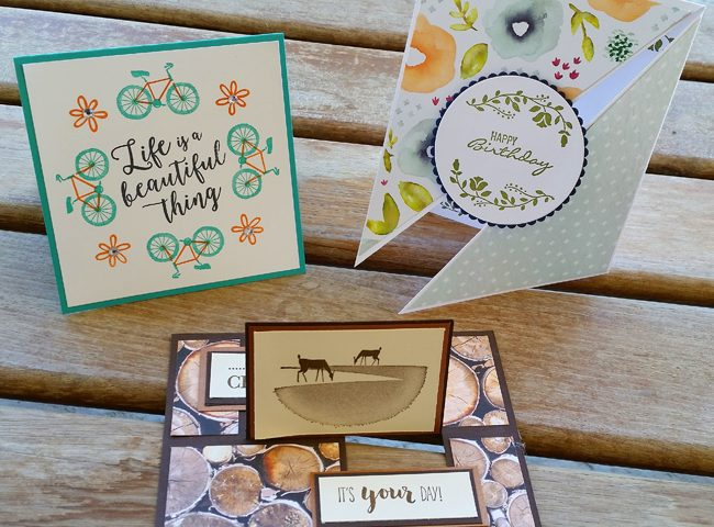 Botanical Bliss, Seize The Day and Sheltering Tree Stampin' Up