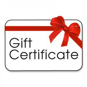 gift certificate, sewing lessons