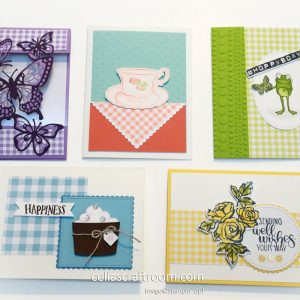 Stampin Up Sale-a-Bration Card Class
