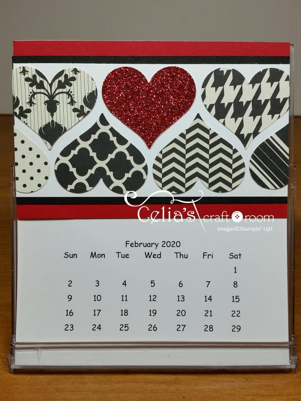 February cd case calendar class