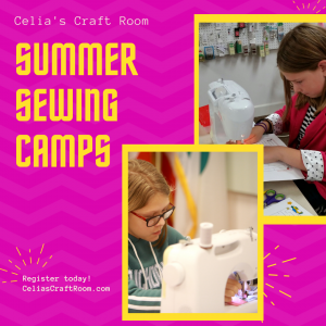 Summer Sewing Camps for Kids and Teens
