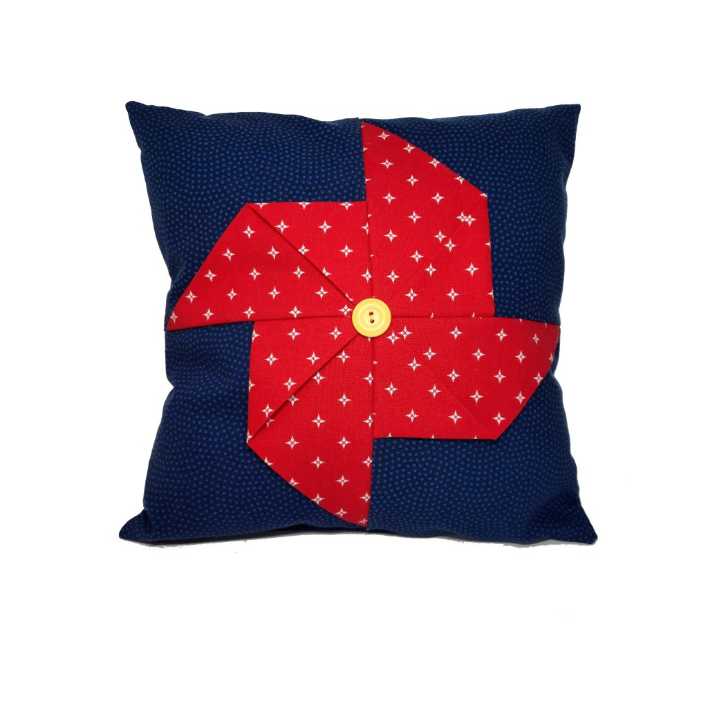 3d pinwheel quilt block, beginning quilting, sewing classes for kids